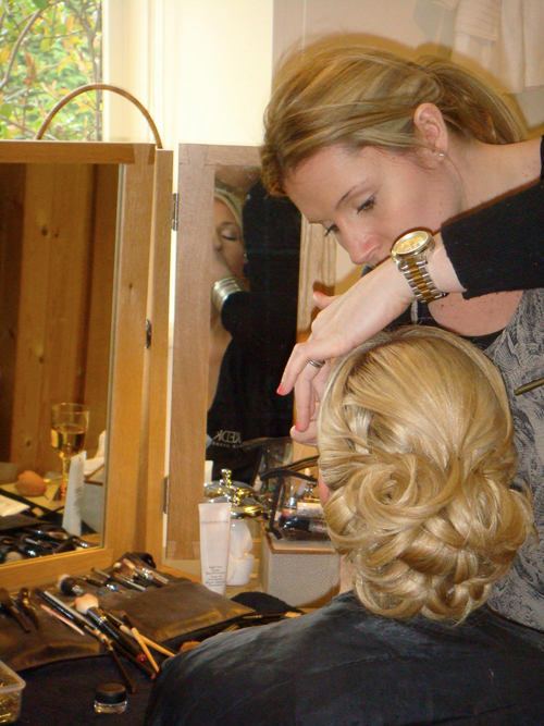 Going the Extra Mile… A 5 Star Wedding Beauty Service